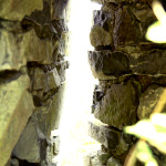 Arrow slit in a castle that was built hundreds of years before America even EXISTED.