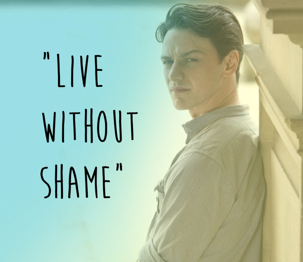 James McAvoy in one of the best movies ever made, 'Atonement.'